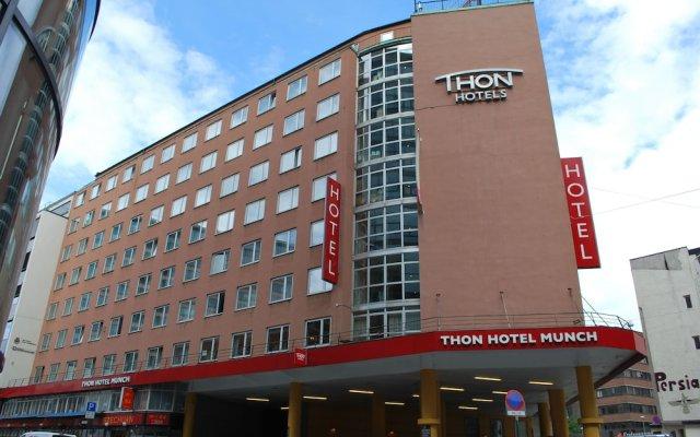 Отель Thon Munch Осло вид на фасад