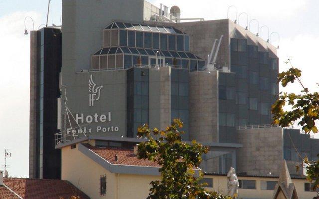 Отель HF Fénix Porto Португалия, Порту - отзывы, цены и фото номеров - забронировать отель HF Fénix Porto онлайн вид на фасад