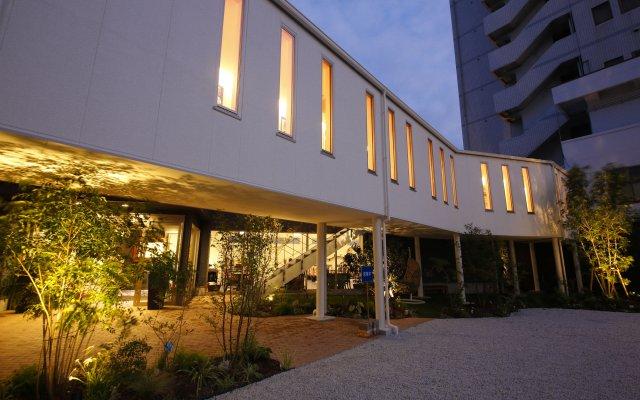 Hotel Sunshine Tokushima Минамиавадзи вид на фасад