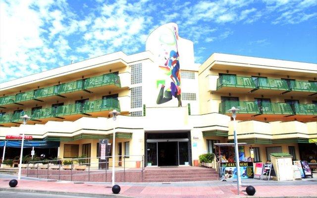 Отель INN вид на фасад