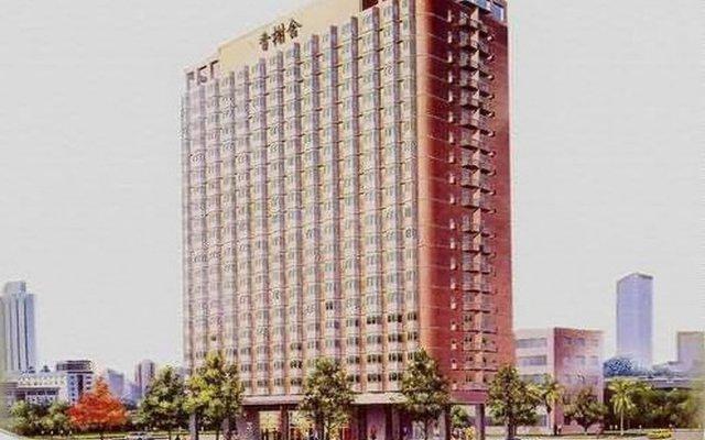 Отель Beijing Sentury Apartment Hotel Китай, Пекин - отзывы, цены и фото номеров - забронировать отель Beijing Sentury Apartment Hotel онлайн вид на фасад