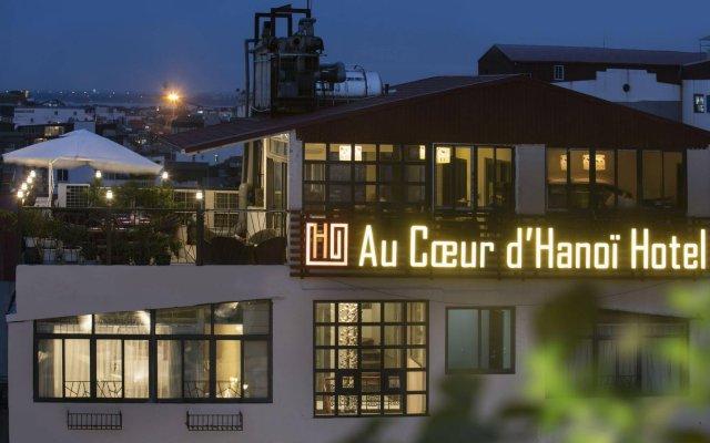 Отель Au Coeur dHanoi Boutique Hotel Вьетнам, Ханой - отзывы, цены и фото номеров - забронировать отель Au Coeur dHanoi Boutique Hotel онлайн вид на фасад