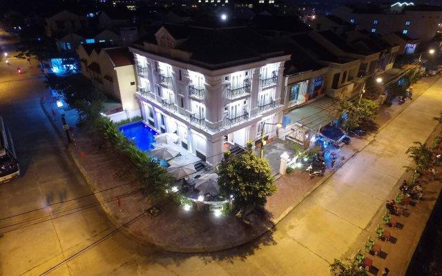 Отель Le Pavillon Hoi An Central Villa Вьетнам, Хойан - отзывы, цены и фото номеров - забронировать отель Le Pavillon Hoi An Central Villa онлайн вид на фасад