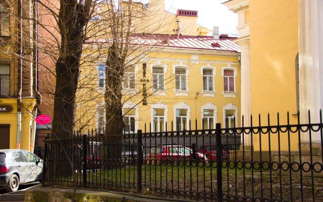 Мини-отель Премиум вид на фасад