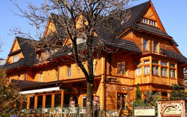 Отель Sabała Польша, Закопане - отзывы, цены и фото номеров - забронировать отель Sabała онлайн вид на фасад