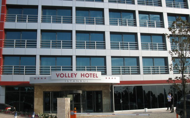 Volley Hotel Istanbul вид на фасад