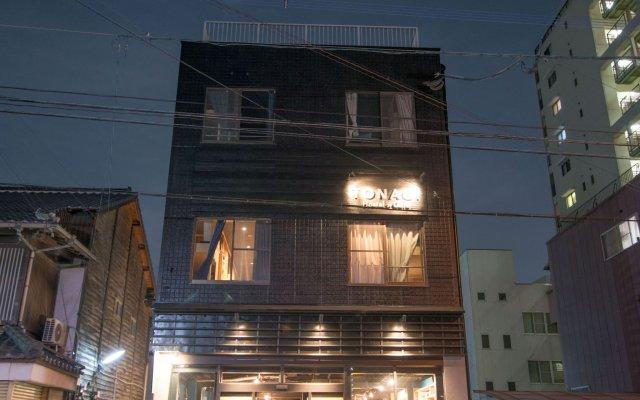 Tonagi Hostel And Cafe Фукуока вид на фасад