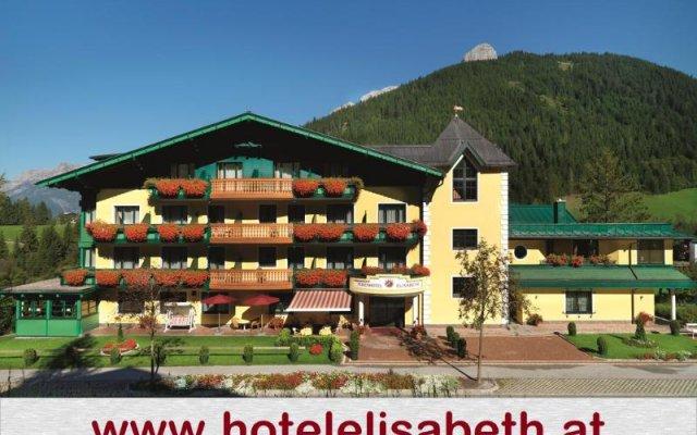 Отель Ferienhotel Elisabeth вид на фасад