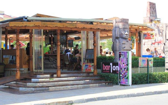 Отель Kuban Resort & AquaPark Болгария, Солнечный берег - отзывы, цены и фото номеров - забронировать отель Kuban Resort & AquaPark онлайн вид на фасад
