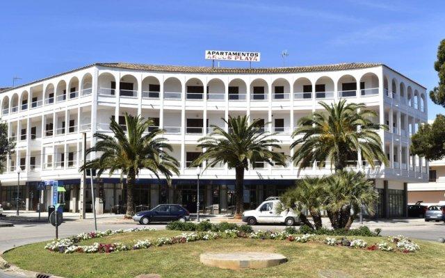 Отель Arcos Playa Apts вид на фасад