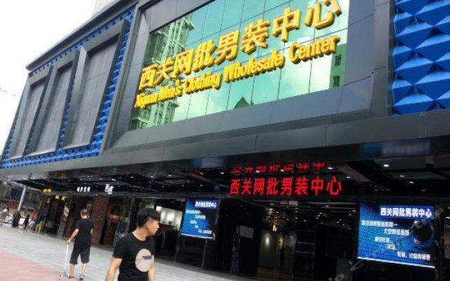 Отель Glorious Spring Youth Hostel Guangzhou Китай, Гуанчжоу - отзывы, цены и фото номеров - забронировать отель Glorious Spring Youth Hostel Guangzhou онлайн вид на фасад