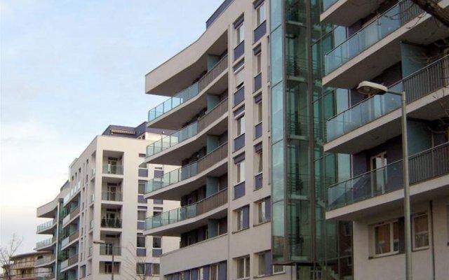 Отель Kornelia Residence вид на фасад