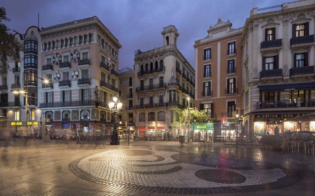 Отель Hostal Paraiso Испания, Барселона - 7 отзывов об отеле, цены и фото номеров - забронировать отель Hostal Paraiso онлайн вид на фасад