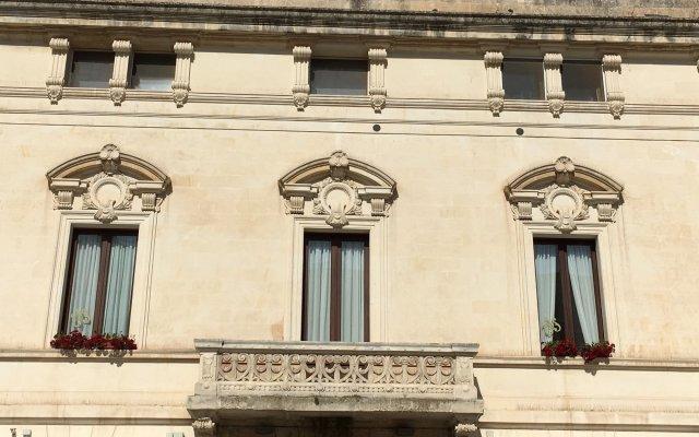 Отель Apollo Suites Лечче вид на фасад