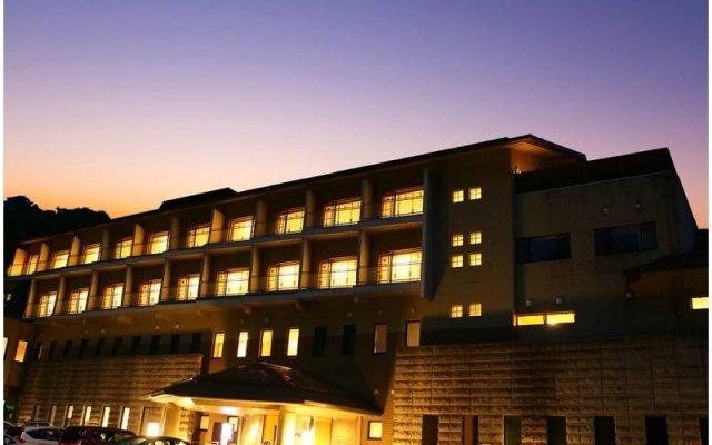 Ooedo-Onsen Monogatari Hotel Nasushiobara Kamoshika-so Насусиобара вид на фасад