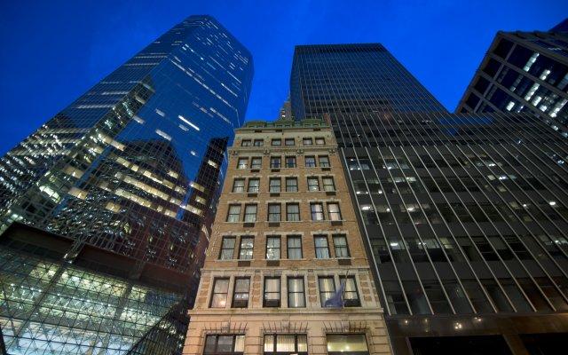 Отель Eurostars Wall Street США, Нью-Йорк - отзывы, цены и фото номеров - забронировать отель Eurostars Wall Street онлайн вид на фасад