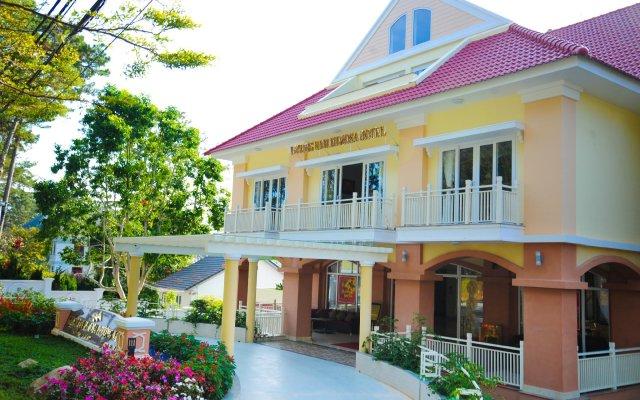 Phuong Nam Mimosa Hotel Далат вид на фасад