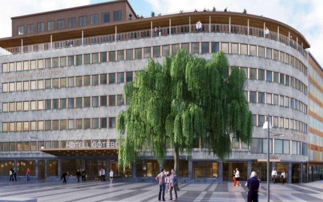 Отель Comfort Goteborg Гётеборг вид на фасад