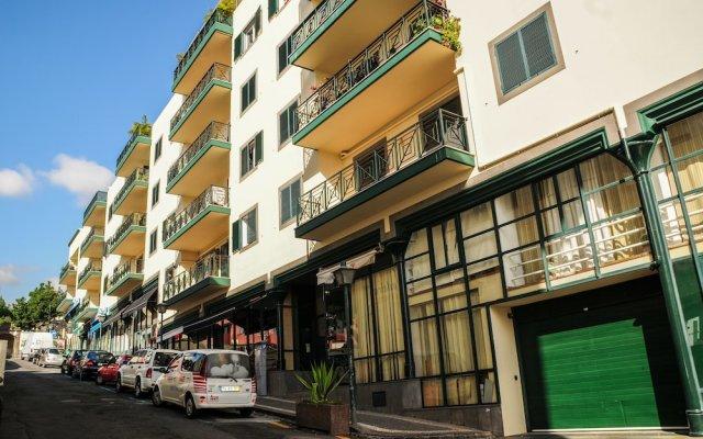 Отель Apartamento Princesa Madeira вид на фасад