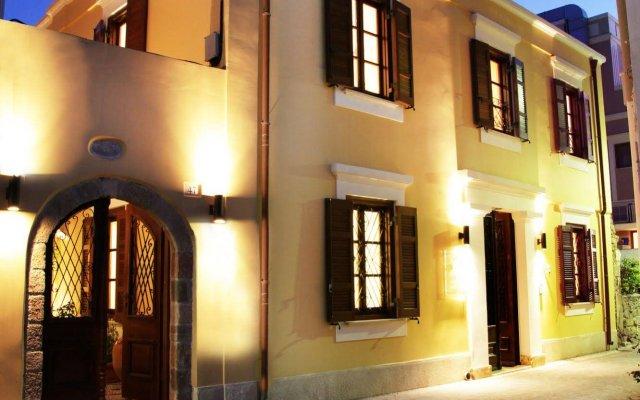 Отель Rodos Niohori Elite Suites вид на фасад
