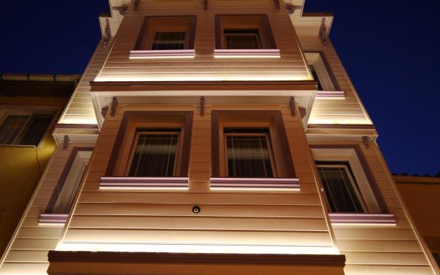 Siesta Hotel Стамбул вид на фасад