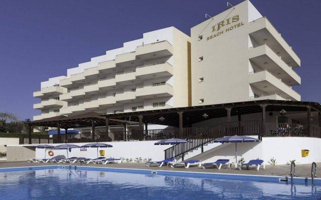 Отель Iris Beach Протарас вид на фасад