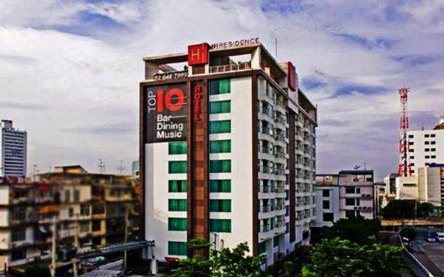 Отель Hi Residence Bangkok Таиланд, Бангкок - отзывы, цены и фото номеров - забронировать отель Hi Residence Bangkok онлайн вид на фасад