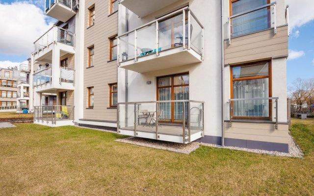 Отель Apartamenty Sun&Snow Sopocka Przystań вид на фасад