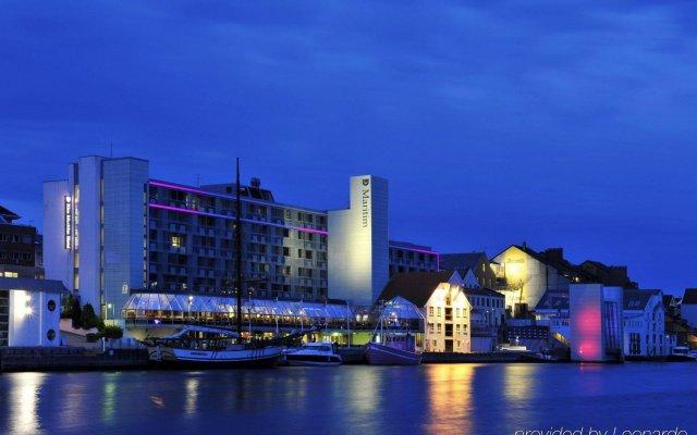 Отель Scandic Maritim Норвегия, Гаугесунн - отзывы, цены и фото номеров - забронировать отель Scandic Maritim онлайн вид на фасад