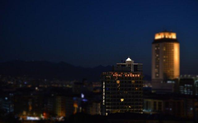 Anemon Fuar Hotel вид на фасад
