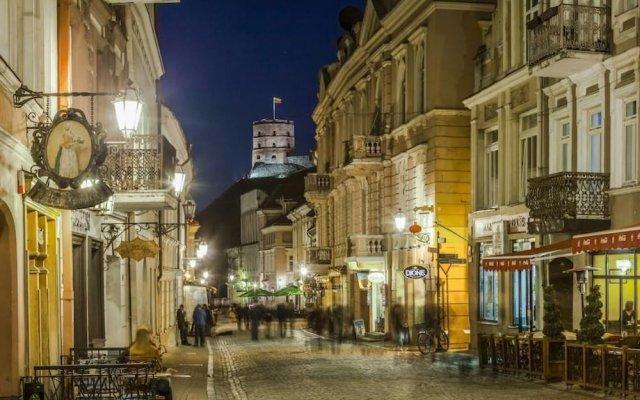 Отель Vilnius City Литва, Вильнюс - 10 отзывов об отеле, цены и фото номеров - забронировать отель Vilnius City онлайн вид на фасад