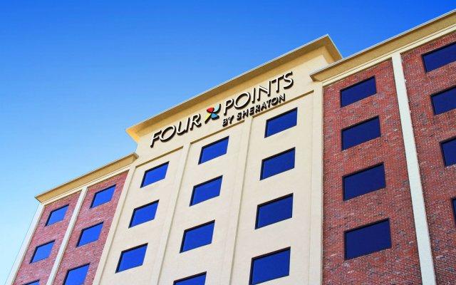 Отель Four Points by Sheraton Niagara Falls США, Ниагара-Фолс - отзывы, цены и фото номеров - забронировать отель Four Points by Sheraton Niagara Falls онлайн вид на фасад