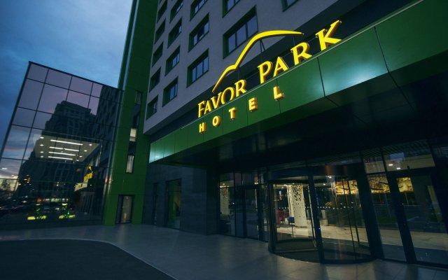 Favor Park Hotel вид на фасад