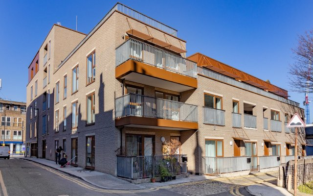 Апартаменты Shoreditch Square Serviced Apartments вид на фасад