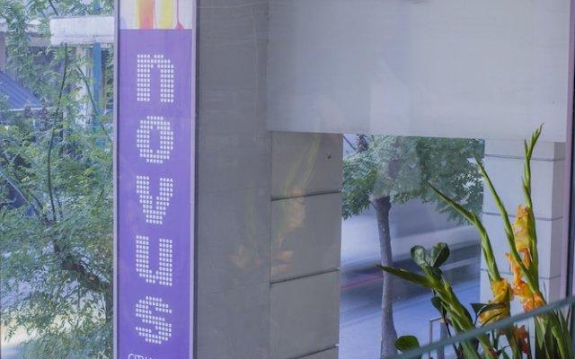 Отель Novus City Hotel Греция, Афины - отзывы, цены и фото номеров - забронировать отель Novus City Hotel онлайн вид на фасад