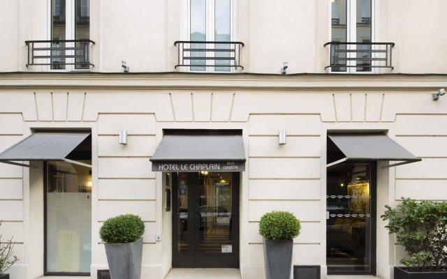 Hotel Le Chaplain Rive Gauche вид на фасад