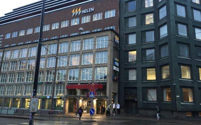 Отель Kamppi Studio at Eerikinkatu 9 Финляндия, Хельсинки - отзывы, цены и фото номеров - забронировать отель Kamppi Studio at Eerikinkatu 9 онлайн вид на фасад