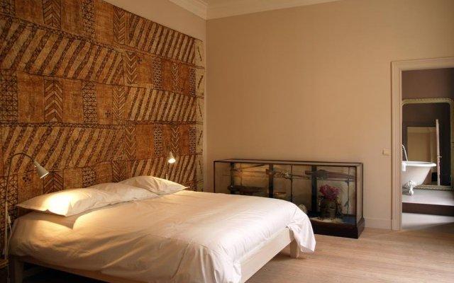 Отель B&b Vaudeville Брюссель комната для гостей