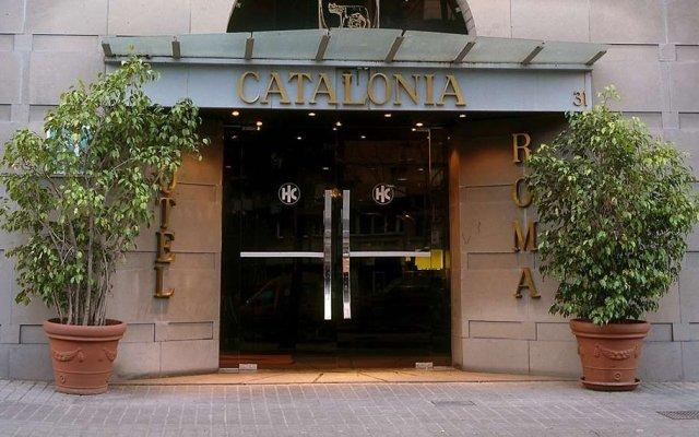 Отель Catalonia Roma вид на фасад