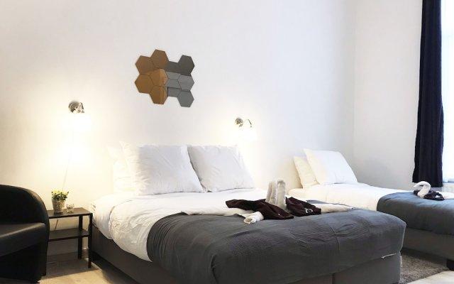 Отель The Hive Rooms Бельгия, Брюссель - отзывы, цены и фото номеров - забронировать отель The Hive Rooms онлайн комната для гостей
