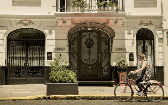 Отель Duque Hotel Boutique & Spa Аргентина, Буэнос-Айрес - отзывы, цены и фото номеров - забронировать отель Duque Hotel Boutique & Spa онлайн вид на фасад