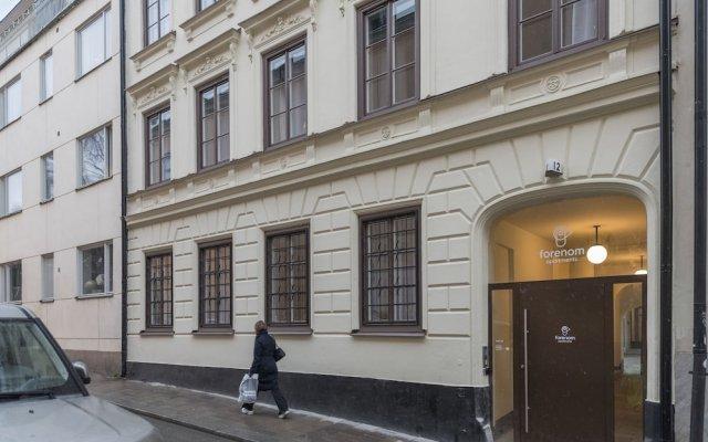 Апартаменты Forenom Apartments Stockholm Johannesgatan вид на фасад