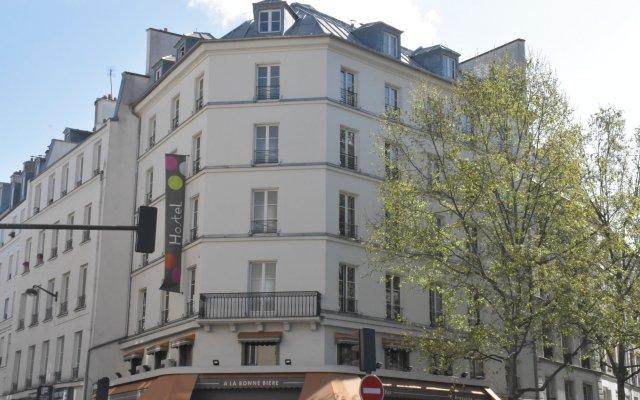 Отель Hôtel Absolute Paris République вид на фасад