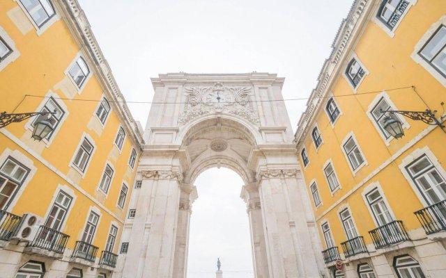 Vistas de Lisboa Hostel вид на фасад