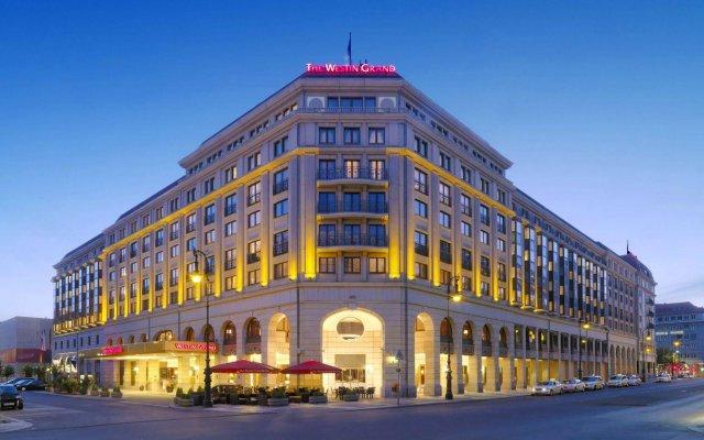 Отель The Westin Grand, Berlin вид на фасад