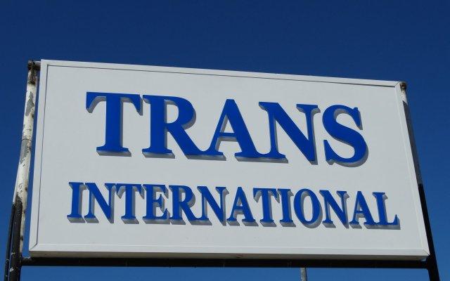 Trans International Hotel вид на фасад