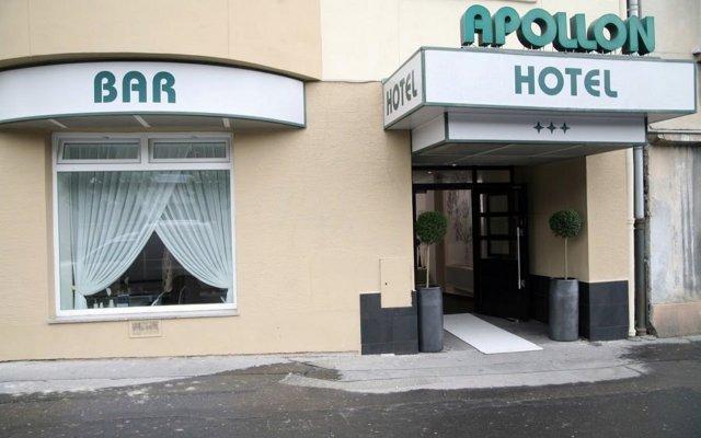 My Hotel Apollon Прага вид на фасад