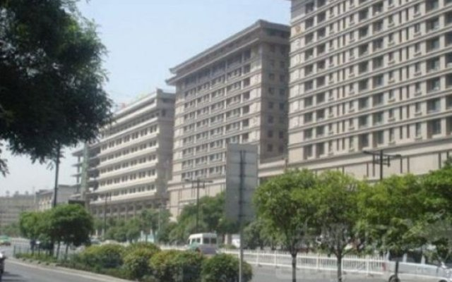 Отель hongtaihotei Китай, Сиань - отзывы, цены и фото номеров - забронировать отель hongtaihotei онлайн вид на фасад