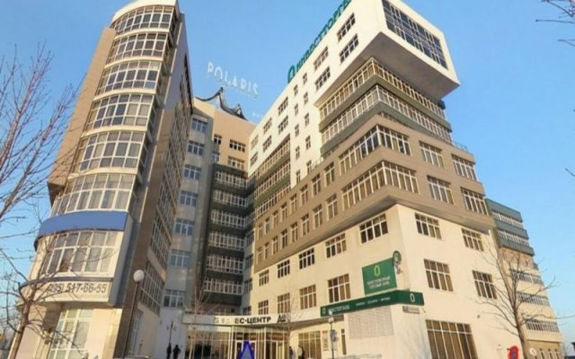 Гостиница Полярис вид на фасад
