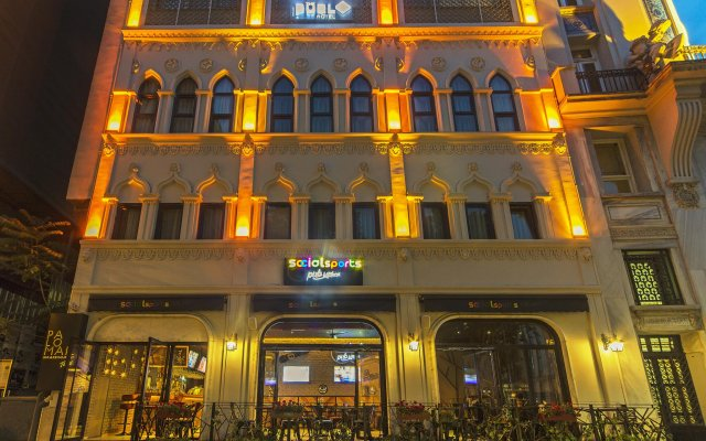 The Purl Boutique Hotel вид на фасад